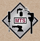 MTS logo on Paper